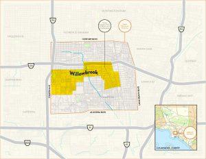Willowbrook Context Map