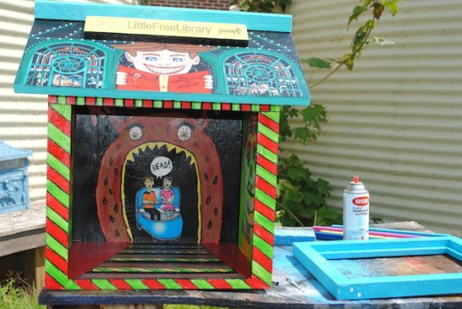 Little Free Library, Patricia Arroyo