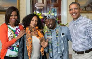 "DJ Cavem and Alkemia Earth were invited to the White House as part of the ""Let's Move"" initiative."