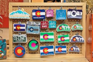 Show your love of Denver through stickers.