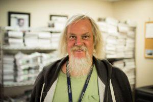 Randy Keller, Denver VOICE vendor, enjoyed the Write Denver collaboration.