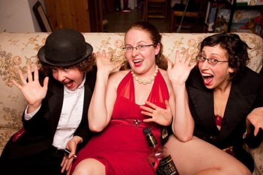 Theresa Madaus, Tara King, and Monica Thomas