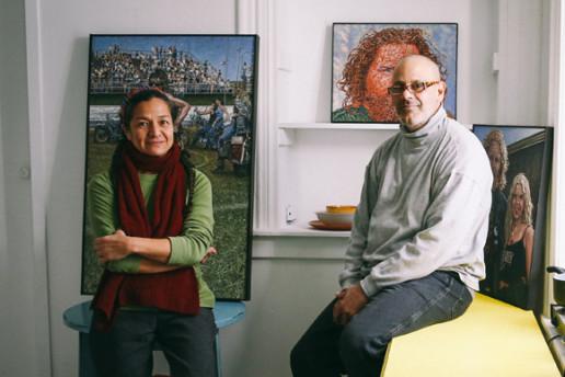 Rocio Cabello and Renny Molenaar
