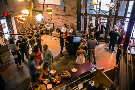 Unleashed! Artist Party, New Hazlett Theater