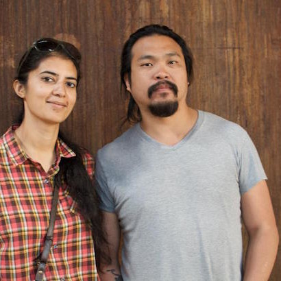 Shagun Singh and Rick Lin