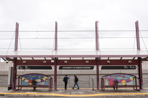 There's a citywide gallery of public art along Denver's bus routes and rail lines.