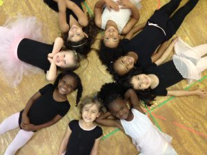 Thomas Armour Youth Ballet students
