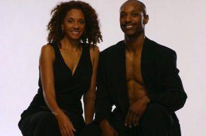 Toni Pierce-Sands and Uri Sands