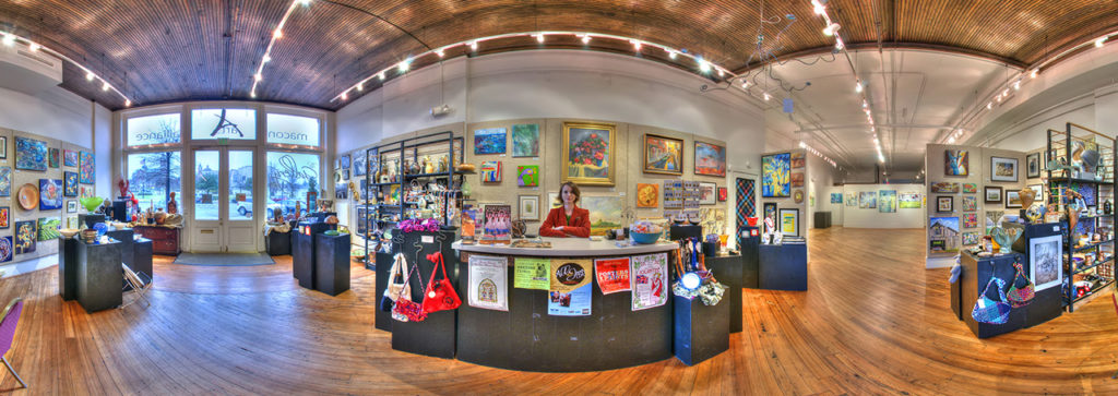 Macon Arts Alliance Gallery Panorama