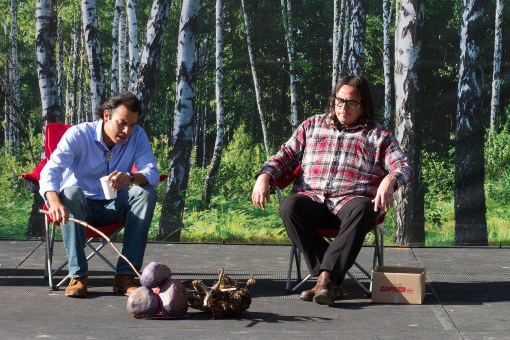 New Native Theatre, by artist Riana Yazzie. Photo by Mary Richardson.