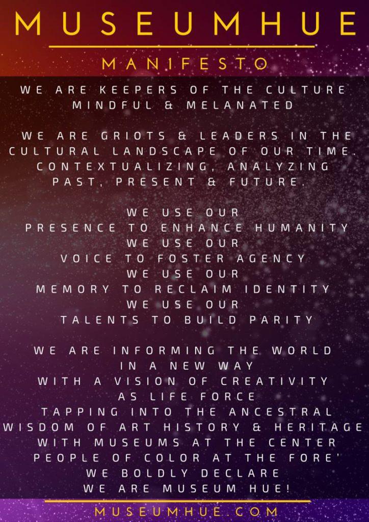 Museum Hue Manifesto