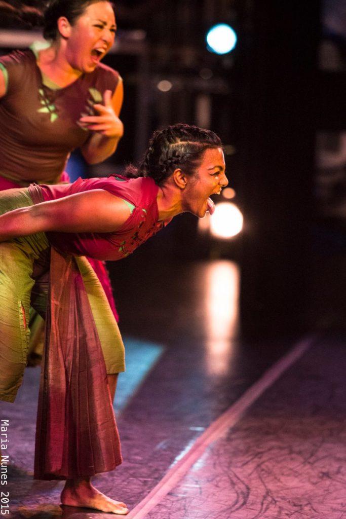 Ananya Dance Theatre 2015 production, Roktim, photo by Maria Nunes